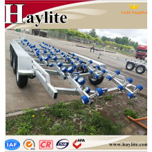 China heavy duty boat trailer with boat trailer parts and long frame